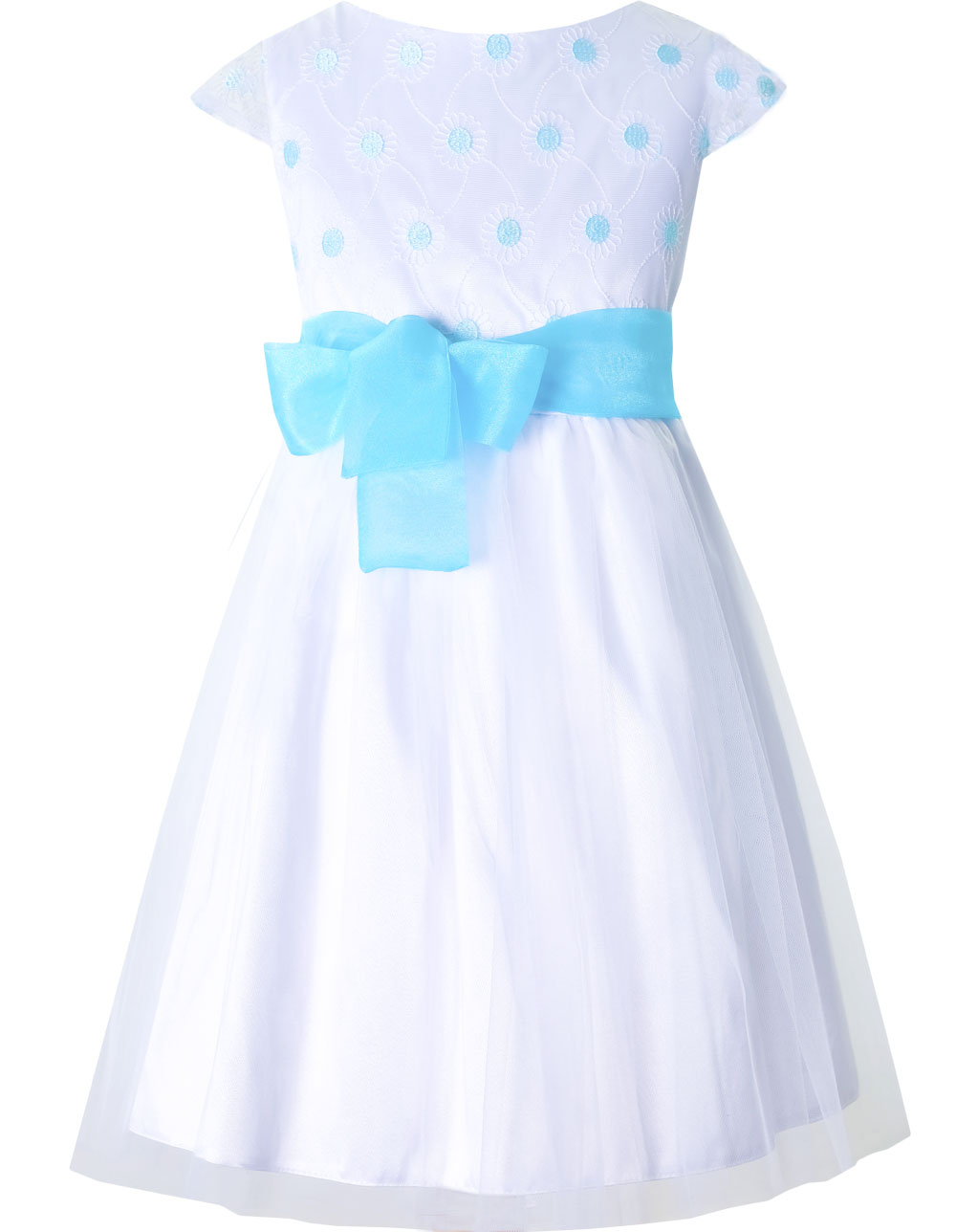 aba7157c57c828 wzor 31 sukienka dla dziewczynki na wesele , pokomunijna , wizytowa tiulowa  biała