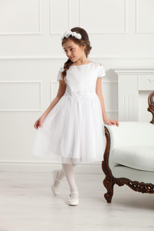 Sukienka Charlotte biała